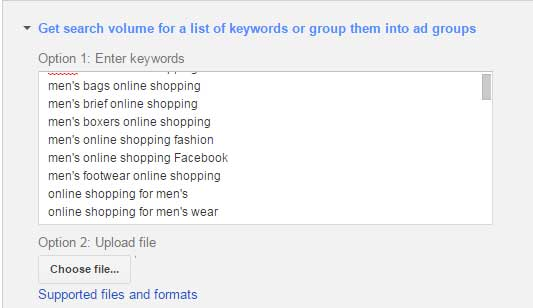 google search for online shoping