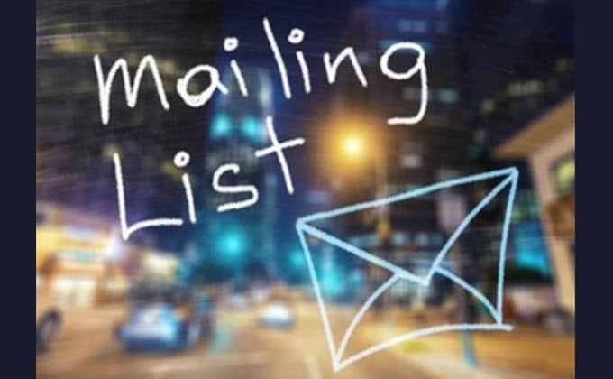 3 Offline Tips for Growing Email Marketing Lists